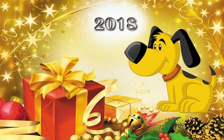 Как украсить новогодний стол 2018 в год Собаки