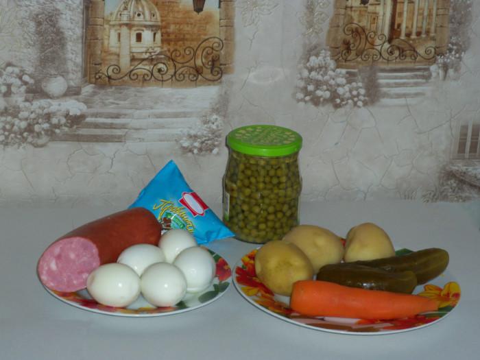 Новогодний салат Часы - как украсить салат на Новый год