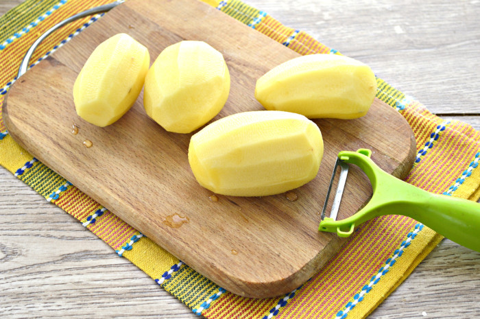 Картофель с майонезом в духовке