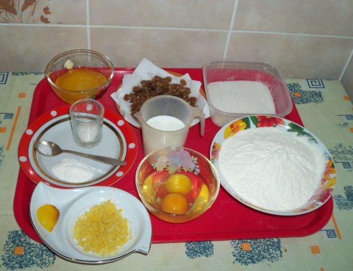 Кексы на кефире с изюмом в духовке в формочках