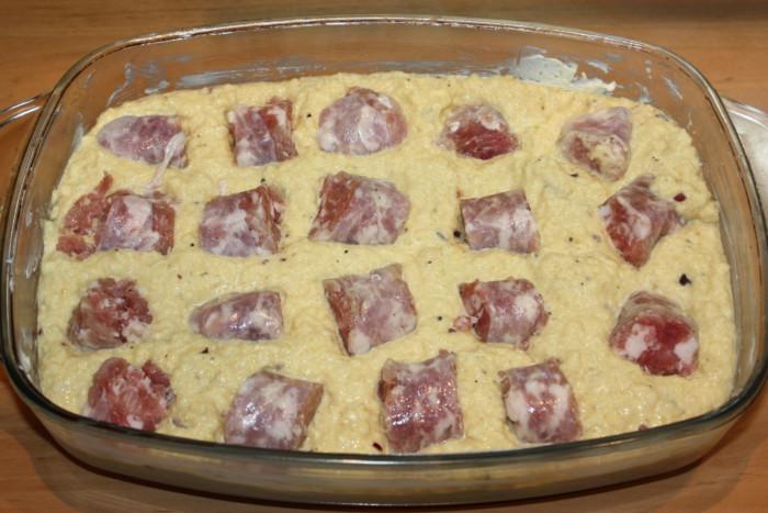 Картофельная бабка по-белорусски