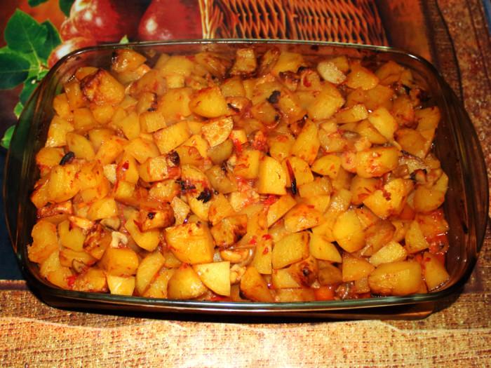 Салат с овощами и мясом рецепт 2