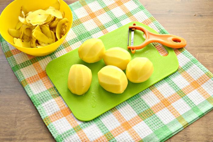 как запечь картошку дольками с хрустящей корочкой