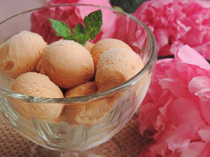 Домашнее мороженое Крем-брюле - домашнее мороженое без яиц