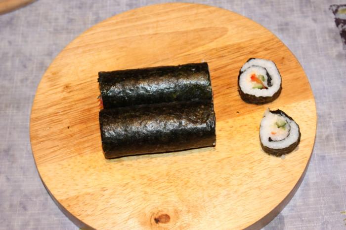 Настоящие японские суши с разными начинками в домашних условиях