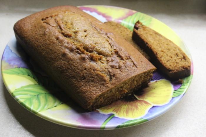 Имбирный кекс с медом в духовке
