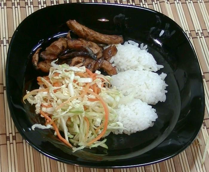 Куриное филе по-китайски в кисло-сладком соусе