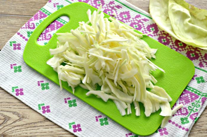 Начинка для пирогов из свежей капусты