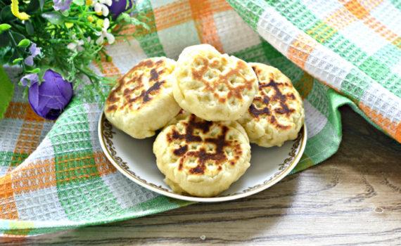 Жареное печенье на сковороде без формы - быстрое и вкусное