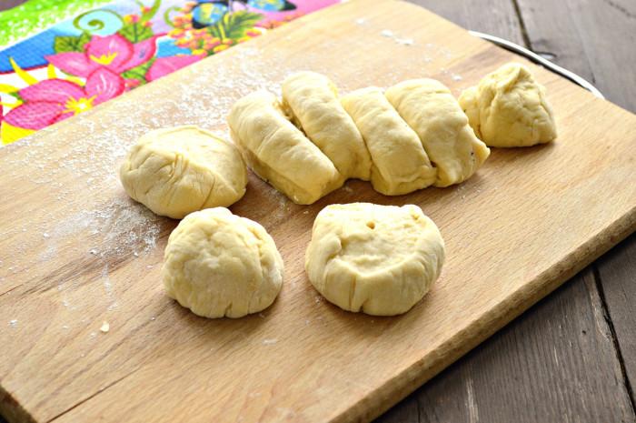 Сладкие булочки на сковороде