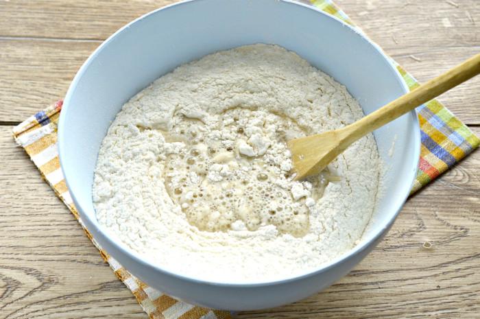 Вкусное постное дрожжевое тесто без яиц и молока