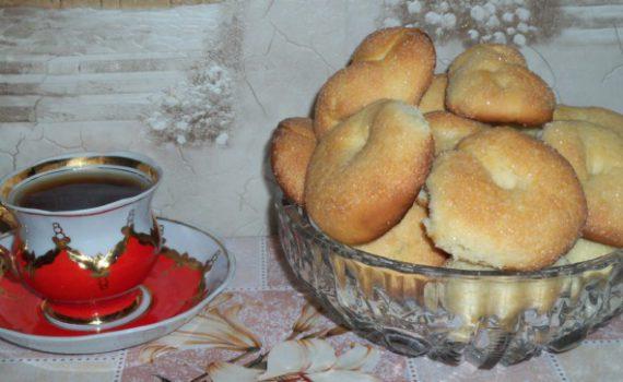 Мягкое печенье на кефире