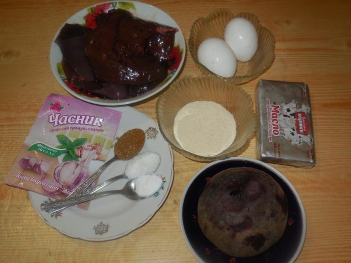 Печеночное суфле в духовке