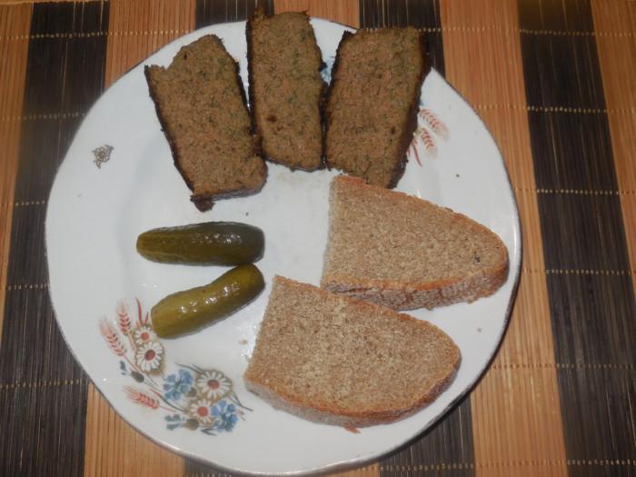 Суфле из печени в духовке