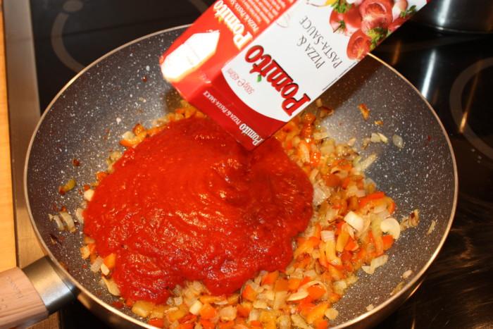Итальянское блюдо зити