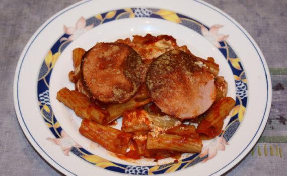Паста зити в духовке - итальянская запеканка из макарон с сыром, томатом и ветчиной