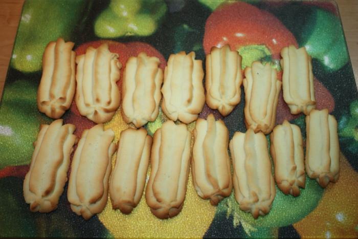 Суворовское печенье - домашнее песочное печенье с начинкой