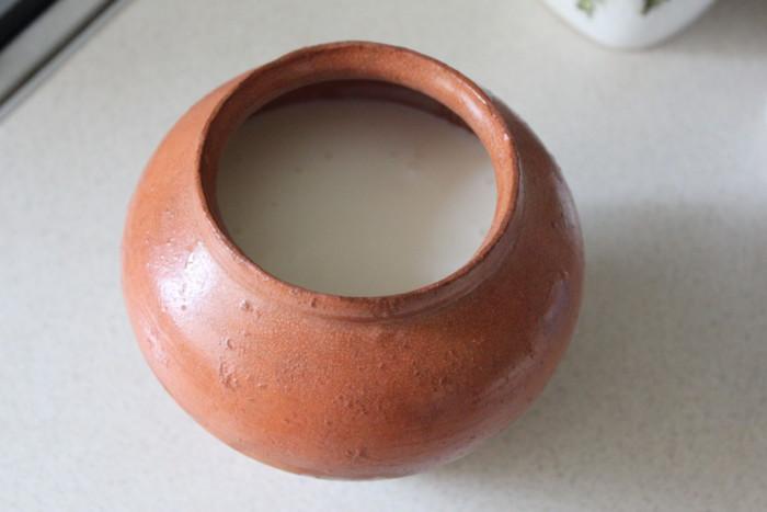 Натуральный домашний йогурт без йогуртницы и сахара на закваске