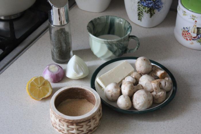 Сливочный грибной соус
