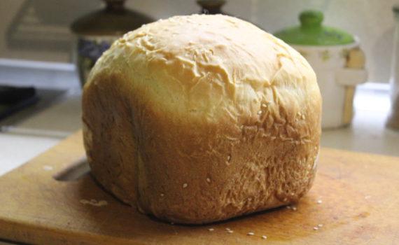 Домашний молочный хлеб в хлебопечке