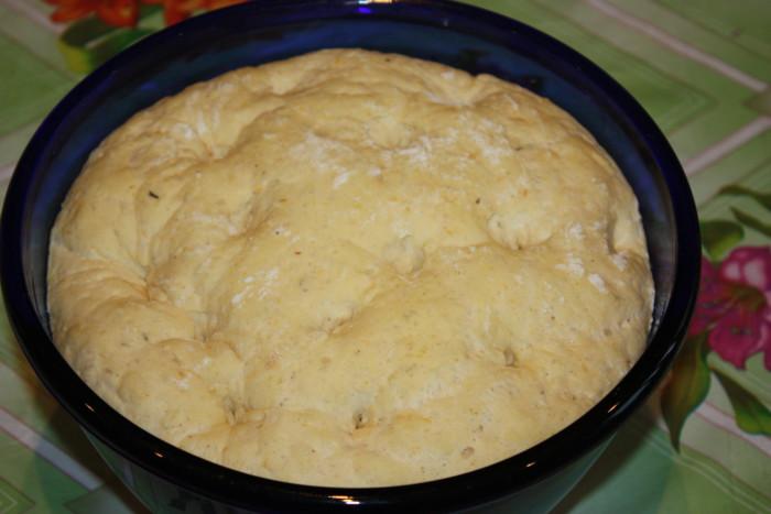 Цельнозерновой хлеб с семечками из тыквы