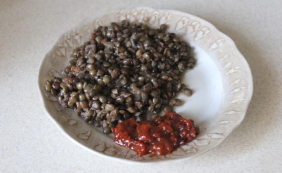 Вкусный гарнир из чечевицы зеленой