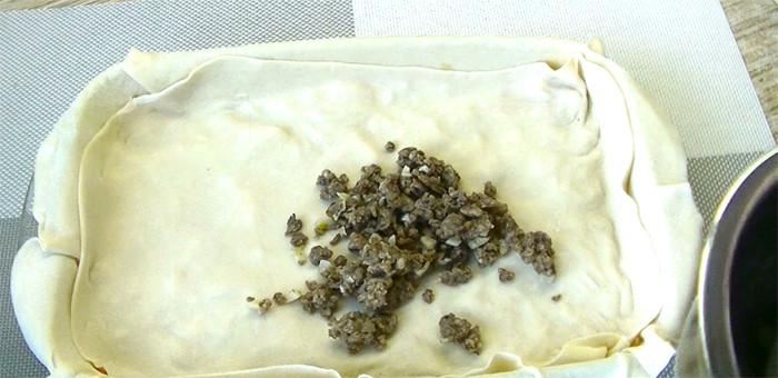 Легкая лазанья без соуса бешамель Da due soldi или Два гроша