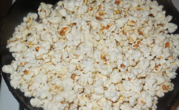 Домашний попкорн на сковороде - самый вкусный