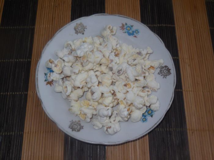 Домашний попкорн на сковороде