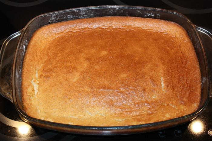 Умный пирог: одно тесто - три слоя