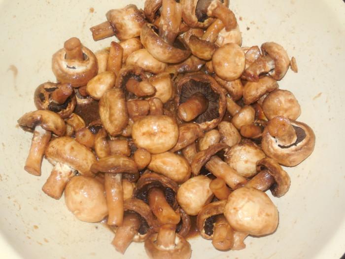 маринованные шампиньоны жареные на мангале