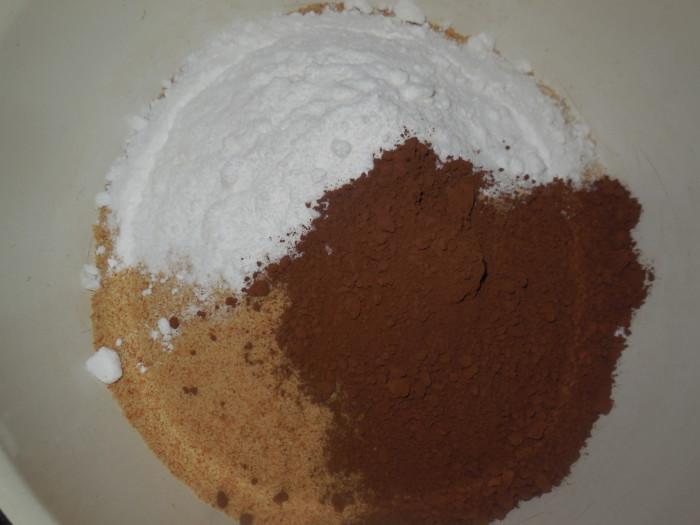 Домашнее пирожное шоколадная картошка со сгущенкой