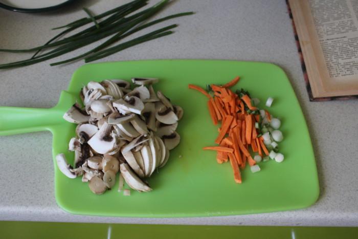 Чешский картофельный суп с грибами