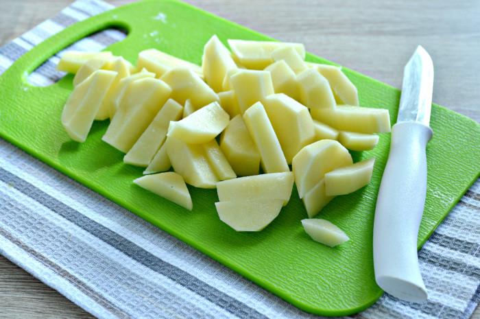 Фасолевый суп с фрикадельками и картошкой