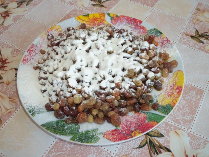 Итальянский кулич панеттоне - рождественский итальянский кекс с изюмом