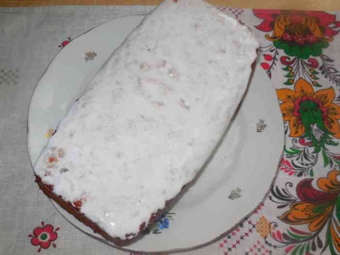 Лимонный кекс на сметане и майонезе в духовке