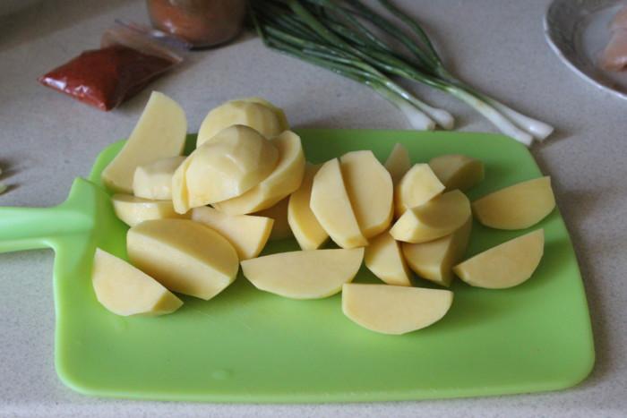 Картофельный паприкаш