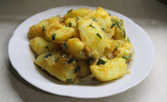 Картофельный паприкаш - вкусный гарнир из картофеля