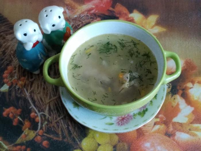 Суп из куриных желудков - вкусный, простой и быстрый