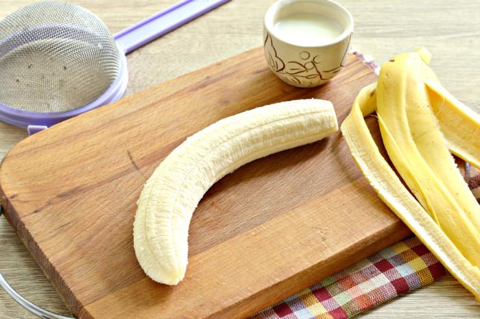 Пюре из бананов для грудничка в блендере на прикорм
