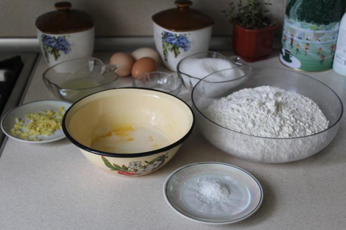 Лимонный кекс в хлебопечке