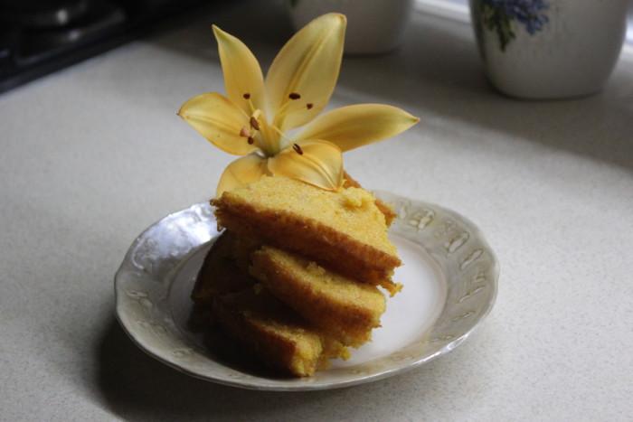 Апельсиновый кекс с морковью в духовке - простой и вкусный