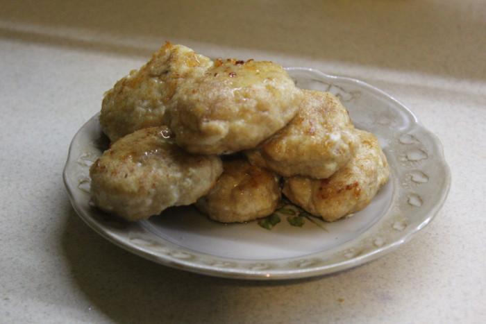 Куриные котлеты с сыром и маслом - вкусные, сочные и нежные