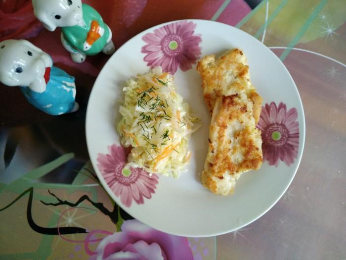 Куриные отбивные на сковороде в кляре - сочные внутри и хрустящие снаружи