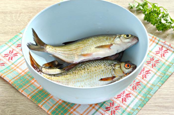Мелкая рыба запеченная в духовке