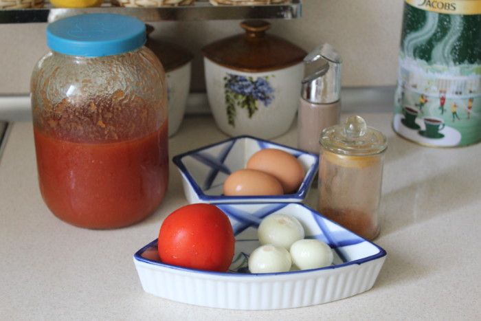 Блюдо шакшука классический рецепт