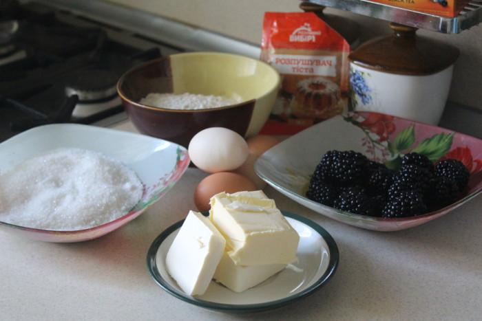 Венский ежевичный пирог
