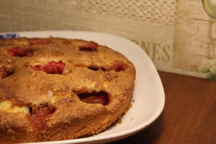 Американский сливовый пирог из газеты New York Times