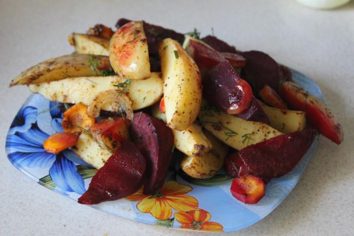 Запеченные овощи в фольге - полезный и вкусный овощной гарнир в духовке