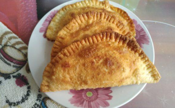 Чебуреки с куриным фаршем - вкусные, сочные и хрустящие